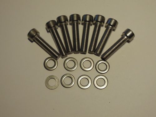 Hex Stainless Exhaust Bolts (8) XJRPEB011